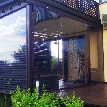 Увеличение площади для приема гостей - Мягкие окна Херсон